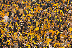 California fans cheer on their team at the opening kickoff of an NCAA college football game against Nevada, Saturday, Sept. 4, 2021, in Berkeley, Calif. (AP Photo/D. Ross Cameron)