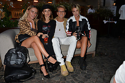 Left To Right, Olivia Smith, Cassie Amato, Oliver Proudlock and Jess Woodley at the Aspall Tennis Classic Players Party hosted by Aspall and Taylor Morris Eyewear at Bluebird, 350 King's Road, Chelsea, London England. 28 June 2017.<br /> Photo by Dominic O'Neill/SilverHub 0203 174 1069/ 07711972644 - Editors@silverhubmedia.com