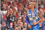 DESCRIZIONE :  Lega A 2014-15  EA7 Milano -Banco di Sardegna Sassari playoff Semifinale gara 7<br /> GIOCATORE : Logan David Stefano Sardara<br /> CATEGORIA : Low Esultanza Mani <br /> SQUADRA : Banco di Sardegna Sassari<br /> EVENTO : PlayOff Semifinale gara 7<br /> GARA : EA7 Milano - Banco di Sardegna Sassari PlayOff Semifinale Gara 7<br /> DATA : 10/06/2015 <br /> SPORT : Pallacanestro <br /> AUTORE : Agenzia Ciamillo-Castoria/Richard Morgano<br /> Galleria : Lega Basket A 2014-2015 Fotonotizia : Milano Lega A 2014-15  EA7 Milano - Banco di Sardegna Sassari playoff Semifinale  gara 7<br /> Predefinita :