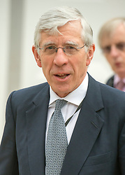 © Licensed to London News Pictures. 22/09/2014. Manchester, UK. Jack Straw.  Labour Party Conference 2014 at the Manchester Convention Centre today 22 September 2014. Photo credit : Stephen Simpson/LNP