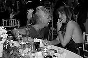 TAMARA BECKWITH; EMILY OPPENHEIMER-TURNER, The Ormeley dinner in aid of the Ecology Trust and the Aspinall Foundation. Ormeley Lodge. Richmond. London. 29 April 2009