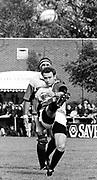 Twickenham, Great Britain,   Harlequins vs London Wasps, Paul Challinor clearing the ball, The Stoop Stadium, Twickenham, ENGLAND. Saturday 14/03/2015.   <br /> <br /> [Mandatory Credit; Peter Spurrier/Intersport-images]