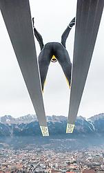 02.01.2016, Bergisel Schanze, Innsbruck, AUT, FIS Weltcup Ski Sprung, Vierschanzentournee, Training, im Bild Gregor Deschwanden (SUI) // Gregor Deschwanden of Switzerland during his Practice Jump for the Four Hills Tournament of FIS Ski Jumping World Cup at the Bergisel Schanze, Innsbruck, Austria on 2016/01/02. EXPA Pictures © 2016, PhotoCredit: EXPA/ JFK