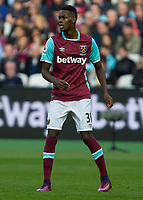 Football - 2016 / 2017 Premier League - West Ham United vs. Sunderland<br /> <br /> Edimilson Fernandes of West Ham at The London Stadium.<br /> <br /> COLORSPORT/DANIEL BEARHAM