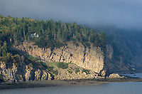 Bay of Fundy headlands, New Brunswick