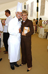 ANTON MOSIMANN and ANGELA RIPPON at the 2005 Cartier International Polo between England & Australia held at Guards Polo Club, Smith's Lawn, Windsor Great Park, Berkshire on 24th July 2005.<br /><br />NON EXCLUSIVE - WORLD RIGHTS