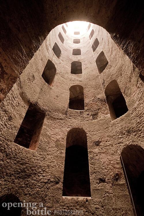 Pozzo di San Patrizio (St. Patrick's Well). Orvieto, Umbria, Italy.