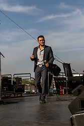 FONTANA, CA - MAR 20 Latin pop singer Kevin Ortiz performed prior to the 2016 AutoClub 400.  Los Angeles, USA. 2016 Mar 20. Byline, credit, TV usage, web usage or linkback must read SILVEXPHOTO.COM. Failure to byline correctly will incur double the agreed fee. Tel: +1 714 504 6870.