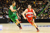 David ANDERSEN / Hugo Invernizzi  - 29.12.2014 - Lyon Villeurbanne / Le Havre - 16e journee Pro A<br />Photo : Jean Paul Thomas / Icon Sport