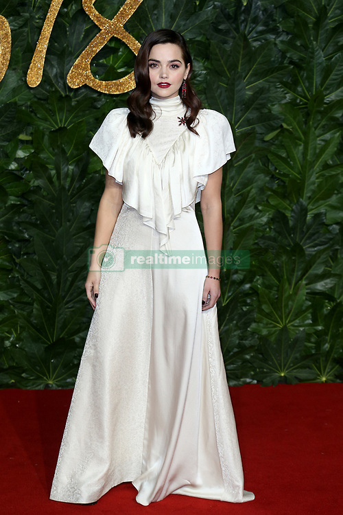 The British Fashion Awards 2018 at the Royal Albert Hall in London, UK. 10 Dec 2018 Pictured: Jenna Coleman. Photo credit: Fred Duval/MEGA TheMegaAgency.com +1 888 505 6342