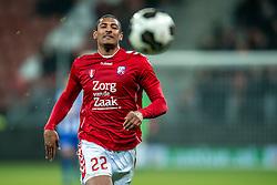 05-02-2017 NED: FC Utrecht - Heerenveen, Utrecht<br /> 21e speelronde van seizoen 2016-2017, Nieuw Galgenwaard / Sebastien Haller #22 FRA