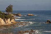 The Coast of Corona Del Mar California