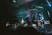 Photos of Slowdive performing live at Atlantic Studios in Ásbrú for ATP Iceland 2014 in Keflavík, Iceland. July 11, 2014. Copyright © 2014 Matthew Eisman. All Rights Reserved