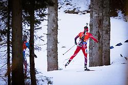 Competetors  during Men 12,5 km Pursuit at day 3 of IBU Biathlon World Cup 2015/16 Pokljuka, on December 19, 2015 in Rudno polje, Pokljuka, Slovenia. Photo by Ziga Zupan / Sportida