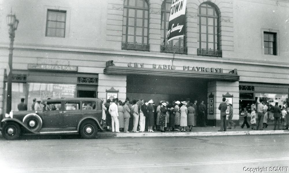 1938 CBS Radio Playhouse on Vine St.