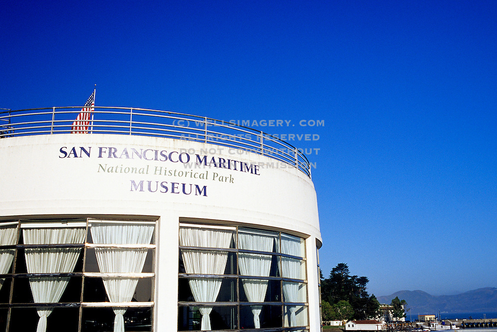 Image of the San Francisco Maritime National Historical Park Museum, San Francisco, California, America west coast by Andrea Wells