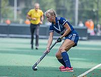 AMSTELVEEN -  Anouk Stam (Pinoke) tijdens de oefenwedstrijd tussen de dames van Bloemendaal en Pinoke   ter voorbereiding van het hoofdklasse hockeyseizoen 2020-2021.  COPYRIGHT KOEN SUYK