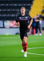 Lincoln City's James Jones during the pre-match warm-up<br /> <br /> Photographer Chris Vaughan/CameraSport<br /> <br /> The EFL Sky Bet League One - Saturday 12th September 2020 - Lincoln City v Oxford United - LNER Stadium - Lincoln<br /> <br /> World Copyright © 2020 CameraSport. All rights reserved. 43 Linden Ave. Countesthorpe. Leicester. England. LE8 5PG - Tel: +44 (0) 116 277 4147 - admin@camerasport.com - www.camerasport.com - Lincoln City v Oxford United