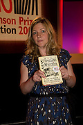 KATE SUMMERSCALE WINNER OF THE PRIZE,<br />BBC Four Samuel Johnson Prize party. Souyh Bank Centre. London. 15 July 2008.  *** Local Caption *** -DO NOT ARCHIVE-© Copyright Photograph by Dafydd Jones. 248 Clapham Rd. London SW9 0PZ. Tel 0207 820 0771. www.dafjones.com.