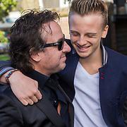 NLD/Laren/20130103 - Huwelijk Laura Ruiters, Marco Borsato en zoon Luca