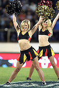 Chiefs Cheerleaders. Super 15 rugby union match, Chiefs v Crusaders at Baypark Stadium, Mt Maunganui, New Zealand. Friday 15th April 2011. Photo: Anthony Au-Yeung / photosport.co.nz