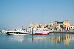 New modernized Fishing Harbour at Umm Suqueim 2 in Dubai United Arab Emirates