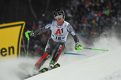 "29.01.2019, Planai, Schladming, AUT, FIS Weltcup Ski Alpin, Slalom, Herren, 1. Lauf, im Bild Sebastian Foss-Solevaag (NOR) // Sebastian Foss-Solevaag of Norway in action during his 1st run of men's Slalom ""the Nightrace"" of FIS ski alpine world cup at the Planai in Schladming, Austria on 2019/01/29. EXPA Pictures © 2019, PhotoCredit: EXPA/ Erich Spiess"