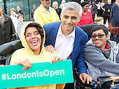 Sadiq Khan National Paralympic Day 3rd September 2016