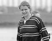 Staines, GREAT BRITAIN,   <br /> Annabel ERYES.<br /> British Rowing Women's Heavy Weight Assessment. Thorpe Park. Sunday 21.02.1988,<br /> <br /> [Mandatory Credit, Peter Spurrier / Intersport-images] 19880221 GBR Women's H/Weight Assesment Thorpe Park, Surrey.UK