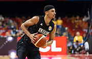 NANJING,CHINA:SEPTEMBER 5th 2019.FIBA World Cup Basketball 2019 Group phase match.Group F. New Zealand vs Greece.Point Guard Tai WEBSTER.<br /> Photo by Jayne Russell / www.PhotoSport.nz