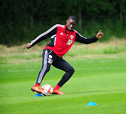 Bristol City's Jordyn Wynter - Photo mandatory by-line: Dougie Allward/JMP - Tel: Mobile: 07966 386802 28/06/2013 - SPORT - FOOTBALL - Bristol -  Bristol City - Pre Season Training - Npower League One