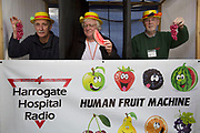 Human fruit machine game to raise money for charity. Organised by Harrogate Hospital Radio. 'Pateley Show', as the Nidderdale Show is affectionately known, is a traditional Dales agricultural show for the finest livestock, produce and crafts in the Yorkshire Dales. Held in the picturesque surrounds of Bewerley Park, Pateley Bridge, is one of the county's foremost shows. It regularly attracts crowds of 17,000 and traditionally marks the end of the agricultural show season.