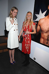 Left to right, EMMA PARKER-BOWLES and MARTHA WARD at a private view of Octagan a showcase of work of photographer Kevin Lynch featuring the stars of the Ultimate Fighter Championship held at Hamiltons gallery, Mayfair, London on 17th January 2008.<br />