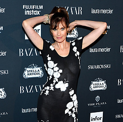 Model Carol Alt attends the Harper's Bazaar Icons by Carine Roitfeld celebration at The Plaza Hotel in New York, NY on September 8, 2017.  (Photo by Stephen Smith/SIPA USA)