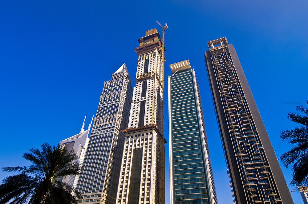 Buildings on Sheik Zayed Road, Dubai, United Arab Emirates