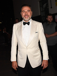 David Walliams leaving the Hammersmith Apollo, London, after the final of Britain's Got Talent.