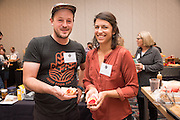 BEET, Beta vulgaris<br />Showcase: high and low geosmin breeding lines<br />Project: Seed to Kitchen Collaborative<br />Breeder: Irwin Goldman, University of Wisconsin Chef: Jonny Hunter, Underground Food Collective Dish 1: Beets with a Choclo Miso & Rye<br />Dish 2: Beet Caramel