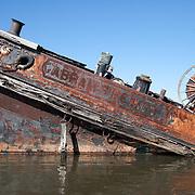 Fireboat Abram S. Hewitt, Boatyard April 9, 2005