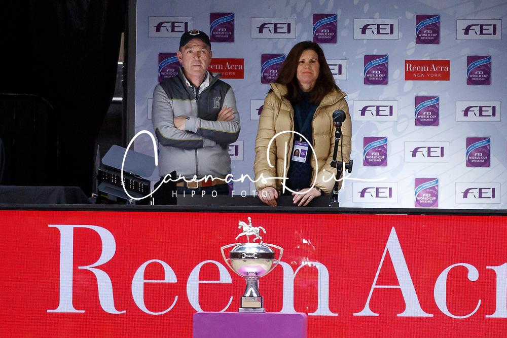 Davies Alan, Jane De La Mare, GBR<br /> Grand Prix Freestyle<br /> FEI World Cup Dressage Final, Omaha 2017 <br /> © Hippo Foto - Dirk Caremans<br /> 01/04/2017