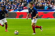 Lucas Digne (fra) during the International Friendly Game football match between France and Colombia on march 23, 2018 at Stade de France in Saint-Denis, France - Photo Pierre Charlier / ProSportsImages / DPPI