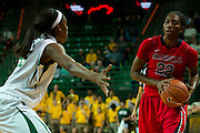 WACO, TX - DECEMBER 18: Danielle McCray #22 of the Mississippi Lady Rebels brings the ball up court against the Baylor Bears on December 18 at the Ferrell Center in Waco, Texas.  (Photo by Cooper Neill) *** Local Caption *** Danielle McCray