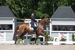 Vanommeslaghe Laurence (BEL) - Avec Plaisir<br /> Grand Prix - CDI Kapellen 2014<br /> © Dirk Caremans