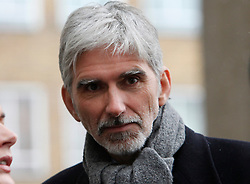 © Licensed to London News Pictures. 18/01/2013. London, U.K..DAMON HILL at the Memorial service for Professor Sid Watkins, former FIA Formula One medical delegate, and crusader for motor sport safety, midday today (18/1/2013) at St.Marylebone Parish Church..Photo credit : Rich Bowen/LNP