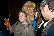 ADELE ADKINS AND JODIE HARSH, Mulberry hosts the book launch of ' The Meaning of Sunglasses by Hadley Freeman. Mulberry shop. 41-42 New Bond St. London. 14  February 2008.  *** Local Caption *** -DO NOT ARCHIVE-© Copyright Photograph by Dafydd Jones. 248 Clapham Rd. London SW9 0PZ. Tel 0207 820 0771. www.dafjones.com.