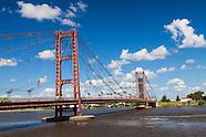 Santa Fe: Puente colgante