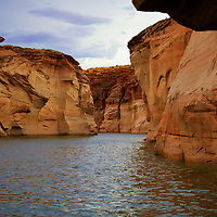 Lake Powell contains more total shoreline then the entire west coast of the U.S....much of it in epic canyons like this.