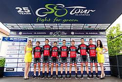 Tean My Bike - Stevens prior to 1st Stage of 25th Tour de Slovenie 2018 cycling race between Lendava and Murska Sobota (159 km), on June 13, 2018 in  Slovenia. Photo by Matic Klansek Velej / Sportida