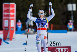 Nilsson Stina of Sweden during 6 x 1.2 km Team Sprint Free race at FIS Cross Country World Cup Planica 2016, on January 17, 2016 at Planica, Slovenia. Photo By Grega Valancic / Sportida