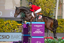 Kayser Julia, AUT, Sterrehofs Cayetano Z<br /> Longines FEI Jumping Nations Cup™ Final<br /> Barcelona 20128<br /> © Hippo Foto - Dirk Caremans<br /> 07/10/2018