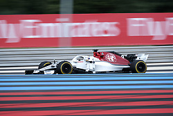 June 23, 2018 - Le Castellet, Var, France - Sauber Driver MARCUS ERICSSON (SWE) in action during the Formula one French Grand Prix at the Paul Ricard circuit at Le Castellet - France (Credit Image: © Pierre Stevenin via ZUMA Wire)